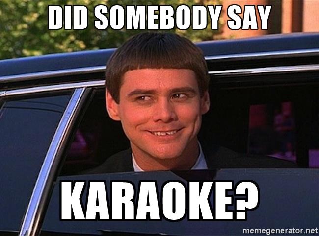 friendsgiving karaoke